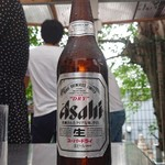 居酒屋 とよ - スーパードライ大瓶 650円