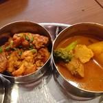 RUCHI - チキンマサラ、野菜チキンカレー