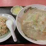 中華料理 大栄飯店 - ちゃんぽん定食