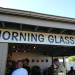 Morning Glass Coffee + Café - 入口です(2018.09)
