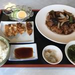 白龍 - 酢豚定食