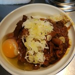 93896676 - ホルモン丼&生卵