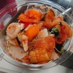 ラパン・スタイル・プラス - ホタテと夏野菜のトマトマリネ