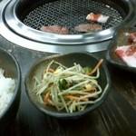 939579 - カルビ定食(ナムル)