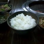 939580 - カルビ定食(ご飯)