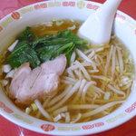 金燕閣 - 半ラーメン(牛バラ丼&半ラーメンセット)