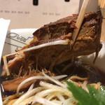 麺屋 聖 - 厚めのチャーシュー