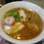 らーめん花月 嵐 - 料理写真:「和歌山 中華そば」ご当地 出井商店とのコラボ拉麺