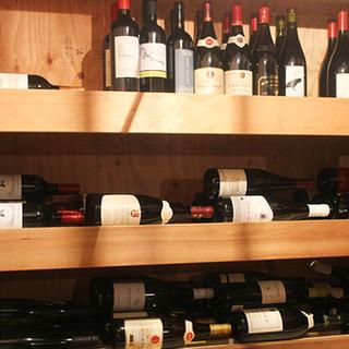 日替わりなど、種類豊富なワイン