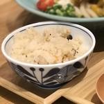 マルヨシ製麺所 - かやくごはん