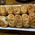 丸金餃子 - 24個が2段重ねでギュウギュウ詰めに