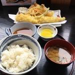 屋形船 横濱たちばな - ★天ぷら定食(650円)★