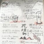 オーガニックカフェ・ラムノ - ドリンクメニュー