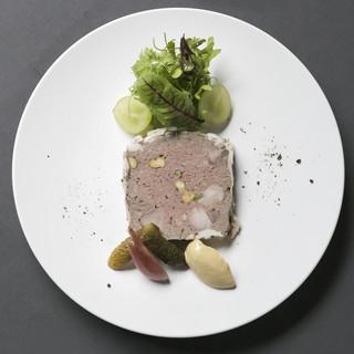猪のパテドカンパーニュ