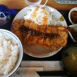 亜和膳 - ワンコインランチ(とんかつ定食)