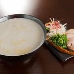パイタンラーメン キャトル 鷹匠 - 料理写真:手火山カプチーノ 限定5食