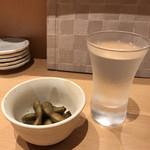 寿司処 たくみ - 地酒とお通し