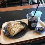 Takasagopankekichayapandowicchi - 好きなパンドウィッチ2個とコーヒーセットで、980円(税別)です(2018.10.4)