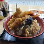 海鮮 天ぷら かば - たれは甘め