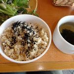 パークサイドキッチン 桜亭 - 発芽玄米御飯など