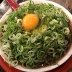 新福菜館 - 中華そば小 肉多め ネギ多め たまご