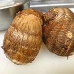 海鮮居酒屋ふじさわ - 埼玉県上福岡市の村田さんの里芋はおでんにて。
