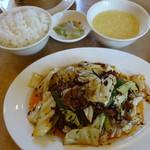 中国料理 桃仙 - 回鍋肉セット