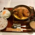 かつ時 - 「カキミックス鍋定食」