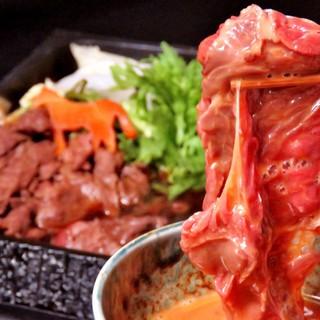名物桜鍋~馬肉のすき焼き~【桜鍋】