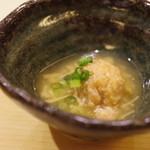 地葉 - 鶏真薯