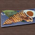 すしざんまい - スルメイカの肝醤油焼き