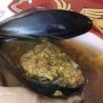 だし廊 - トリュフの貝ペースト(大つけ麺博2018)