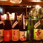 磯ぎよし - ドリンク写真:2018年10月新酒勢揃い