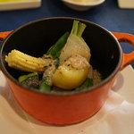 9393215 - 季節野菜のバーニャカウダソース
