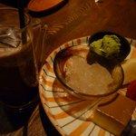 仙之助 - デザートとアイスコーヒー
