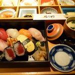 仙之助 - ランチ・・・・メイン「寿司」