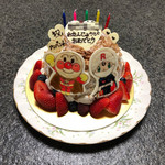 アトリエ・サン・ミシえる - バースデーケーキ(ネージュというケーキがベース)