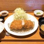 あげ福 - ランチ上ロース定食