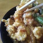 食道家 離 伸 - さっくり天ぷら