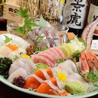 【佐渡蔵厳選】魚屋直営ならではの新鮮魚介類