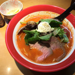 麺匠 喜楽々 - 料理写真:トマトラーメン 880円