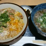 93935156 - 丼セット(肉吸いに変更)