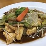 ひがし食堂 - 豆腐チャンプルー単品550円