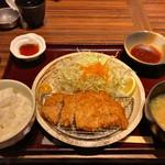 隠豚 - 豚ロースかつ定食 1000円