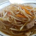 中華料理 タカノ - もやし餡が