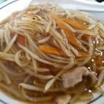中華料理 タカノ - たっぷりで