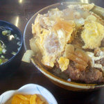 友栄屋 - カツ丼