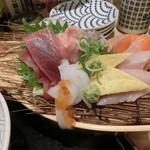 鮨 酒 肴 杉玉 - 舟盛り