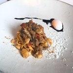 クッチーナ イタリアーナ ガッルーラ - 牛肉のラグーのパスタ(シェアサイズ)