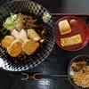 梶の葉 - 料理写真:冷鳥玉ランチセット1050円